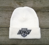 Шапка LOS ANGELES KINGS Mitchell & Ness Team Talk Cuff Knit