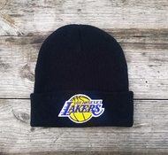 Шапка LOS ANGELES LAKERS Mitchell & Ness Team Talk Cuff Knit