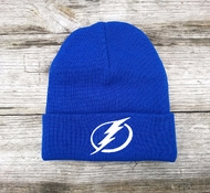 Шапка TAMPA BAY LIGHTNING Mitchell & Ness Team Talk Cuff Knit