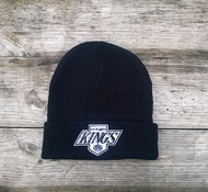 Шапка LOS ANGELES KINGS Mitchell & Ness Team Logo Cuff Knit